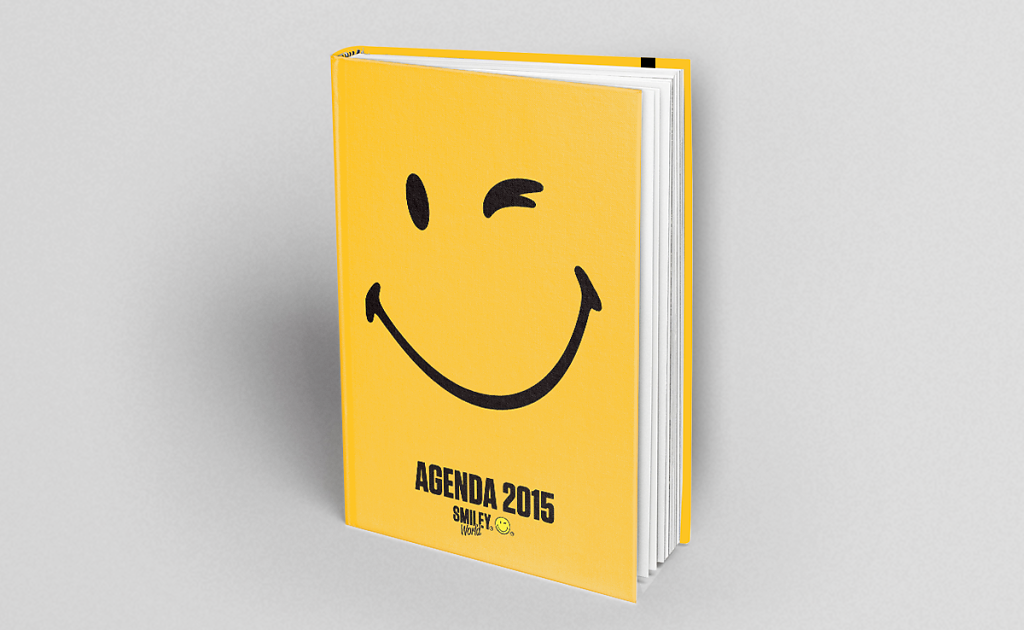 Agenda Smiley - Les Livres du Dragon d'Or